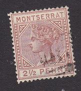 Montserrat, Scott #7, Used, Queen Victoria, Issued 1884 - Montserrat