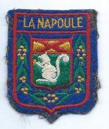 Écusson Tissu à Coudre Ancien/ Armoiries De Ville/La Napoule / Alpes Maritime /années 60-70             ET160 - Ecussons Tissu