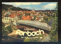 Postal Adhesiva. *Forbach Im Murgtal* Ed. Müller Nº 4235. Nueva. - Materiales
