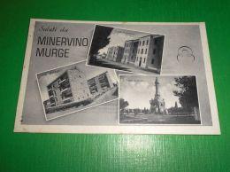 Cartolina Saluti Da Minervino Murge - Vedute Diverse 1965 - Bari