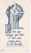 Andachtsbild - Image Pieuse - Communion - Jesus - Belin - 1951 - 6*11cm (29429) - Andachtsbilder