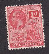 Montserrat, Scott #57, Mint Hinged, King George V, Issued 1922 - Montserrat