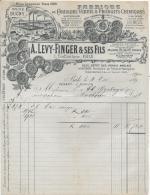 BALES .- A. LEVY-FINGER & SES FILS  Fabrique Couleurs Vernis & Produits Chimiques - Switzerland