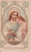 Andachtsbild - Image Pieuse - Souvenir De Communion - Jesus -  4,5*7,5cm (29431) - Andachtsbilder