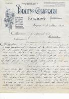 LUGANO .- BRUNO COLLORIDI  .- Importation De Vins - Switzerland