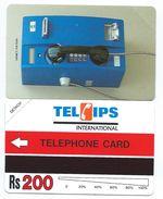 PAKISTAN 2 - 200 Rs Urmet Blue Telephone 1993 MINT URMET NEUVE - Pakistan