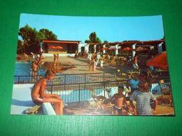 Cartolina Baia Domizia - Caserta - Villaggio La Serra - Piscina 1969 - Caserta