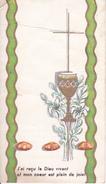 Andachtsbild - Image Pieuse - Communion - St-Maurice De Wolschwiller - 1971 - Marie-Rose Eglin 7*12cm (29435) - Andachtsbilder