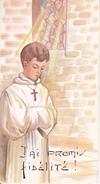 Andachtsbild - Image Pieuse - Communion - St-Maurice - 1967 - Laurent Et Bruno Humbert - Levoncourt - 6*11cm (29438) - Andachtsbilder