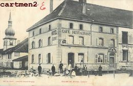 SAINT-LEONARD EGLISE HOTEL LEROY CAFE RESTAURANT 88 - Non Classés