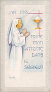 Andachtsbild - Image Pieuse - Communion - Eglise St-Maurice De Wolschwiller - 1971 - Marie-Rose Eglin - 6*11cm (29440) - Andachtsbilder