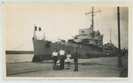 (Algérie) Philippeville. Bateau De Guerre. 1946. - Bateaux