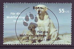 BRD - 2007 - MiNr. 2632 - Wohlfahrt - Gestempelt ESST Bonn - Usados