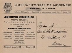 6860.   Società Tipografica Modenese Modena 1947 - Commercio
