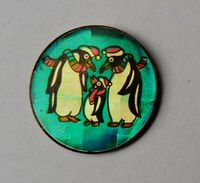 Pin's Famille Pingouins Manchots - ANIMAUX - Aa16 - Animaux