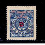 ! ! Portugal - 1931 Franchise Geographic Society Of Lisbon - Af. SGL 10 - MH - Franchise