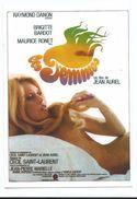 CPM Brigitte Bardot - Affiche Du Film Les Femmes Avec Maurice Ronet - Ed Encyclopédie Du Cinéma - Artistes
