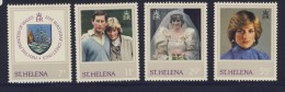 ST HELENE 1982 Diana  SCOTT N°372/75 NEUF MNH** - Saint Helena Island