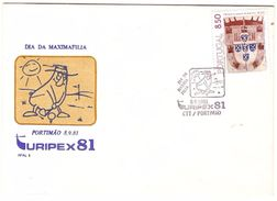 Portugal & FDC TURIPEX, Day Of A.F.A.L, Portimão 1981 (1677) - Autres