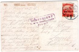 FIUME And Cenzor Fiume TIP 2 From 1918 - Croatia