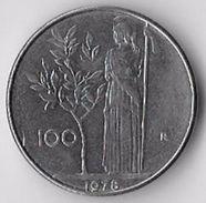 Italy 1978 100 Lire [C500/2D] - 1946-… : Republic