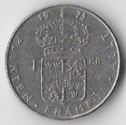 Sweden 1973 1 Krona [C503/2D] - Suecia