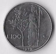 Italy 1979 100 Lire (1) [C505/2D] - 1946-… : Republic