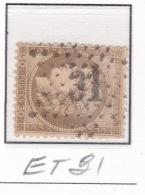Etoile 31 Sur 56 - Marcophilie (Timbres Détachés)