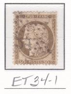 Etoile 34-1 Sur 56 - Marcophilie (Timbres Détachés)