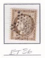 Etoile 36 Sur 56 - Marcophilie (Timbres Détachés)