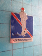 Pin317 Pin's Pins /  Rare CHRONOPOST EMS SKI NAUTIQUE Grand Pin's , Belle Qualité ! - Water-skiing