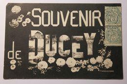 Cpa Multivues Souvenir De Ducey 1905 - TOL01 - Ducey