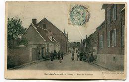 CPA  60  :   STE GENEVIEVE  Rue Du Placeau    VOIR  DESCRIPTIF  §§§§§§ - Sainte-Geneviève