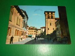Cartolina Correggio - Corso Cavour 1973 - Reggio Nell'Emilia