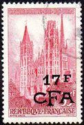 Réunion Obl. N° 338 - Cathédrale De Rouen - Réunion (1852-1975)