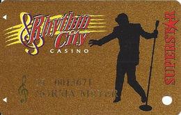 Rhythm City Casino - Davenport, IA USA - Slot Card - Casino Cards