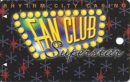 Rhythm City Casino - Davenport, IA USA - Slot Card (BLANK) - Casino Cards
