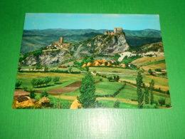 Cartolina San Leo - Scorcio Panoramico - Unica Strada D' Accesso 1972 - Rimini