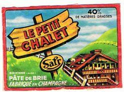 LE PETIT CHALET  PATE DE BRIE EN CHAMPAGNE    ***    A   SAISIR   **** - Cheese