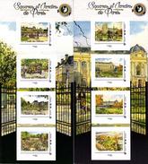 France 2017** Collectors Squares Et Jardins De Paris I Et II ( édition Limitée ) - Blocs & Feuillets