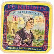 LE RIBLAIRE FABRIQUE A ST VARENT   DEUX SEVRES   ***  RARE   A SAISIR  ***** - Cheese
