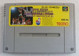 Super Famicom : Tecmo Super NBA Basketball SHVC-NA - Electronic Games