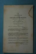 Marie Philippart Vve Du Bus Tournai 1850 /052/ - Images Religieuses