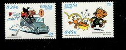 458899857 SPANJE 2001 POSTFRIS MINT NEVER HINGED EINWANDFREI  YVERT 3394 3395 - 2001-10 Unused Stamps