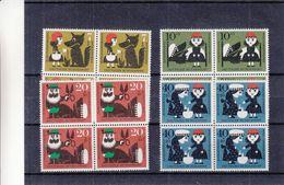 République Fédérale - Yvert  213 / 16 ** - MNH - Contes - Chaperon Rouge - En Bloc De 4 - Valeur 20 Euros - Märchen, Sagen & Legenden