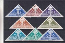Jeux Olympiques - Sharjah - Tokyo 1964 - Flamme - Anneaux - Série ** - MNH - Summer 1964: Tokyo