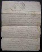 1782 Généralité De La Rochelle Jacques Guinguenau à Jean Guinguenau Voir Photos - Manuscripts