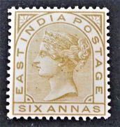VICTORIA 1874/79 - NEUF * - YT 30 - India (...-1947)