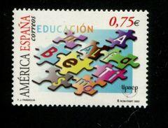 458908759 SPANJE 2002 POSTFRIS MINT NEVER HINGED EINWANDFREI  YVERT 3501 - 2001-10 Unused Stamps