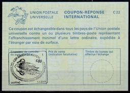 UNITED NATIONS VIENNA UNO WIEN CITES ENTE / DUCK / CANARD  01.02.2001 Int. Reply Coupon Reponse  Antwortschein IRC IAS - Canards